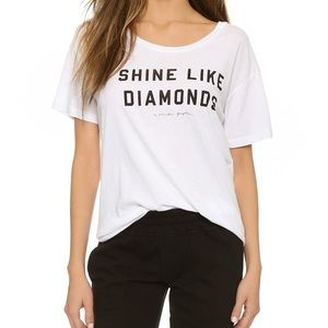 Spiritual Gangster Shine Like Diamonds Tshirt
